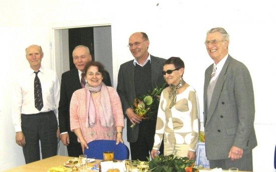 Fotka z oslav jubilea Ing. Radomíra Zbožínka