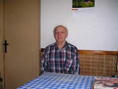 Lysický občan Antonín Škrabal - pamětník provozu plynového motoru