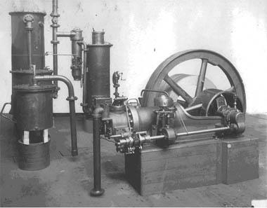 Plynový motor ŠKODA